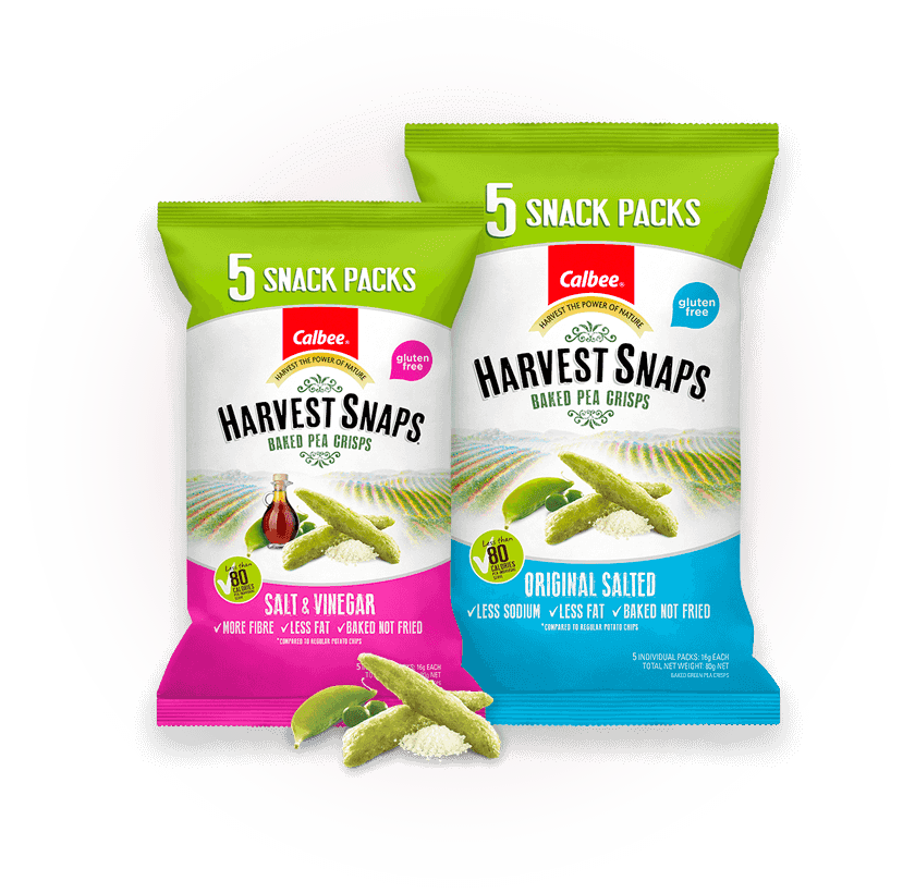 Calbee Australia - Harvest Snaps Mutli Pack Slider Product
