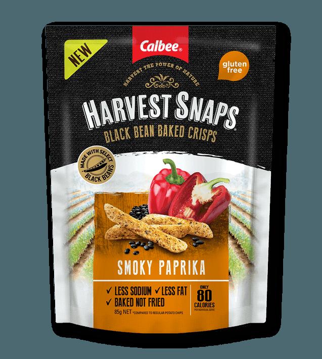 Calbee Australia - Harvest Snaps Paprika Black Bean