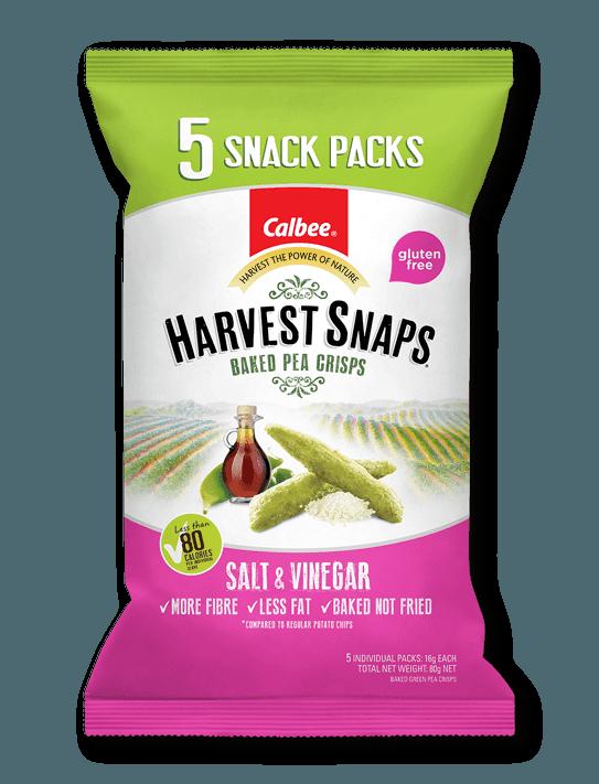 Calbee Australia - Harvest Snaps Salt & Vinegar Snack pack