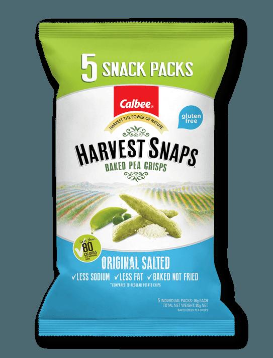 Calbee Australia - Harvest Snaps Original Salted Snack Pack