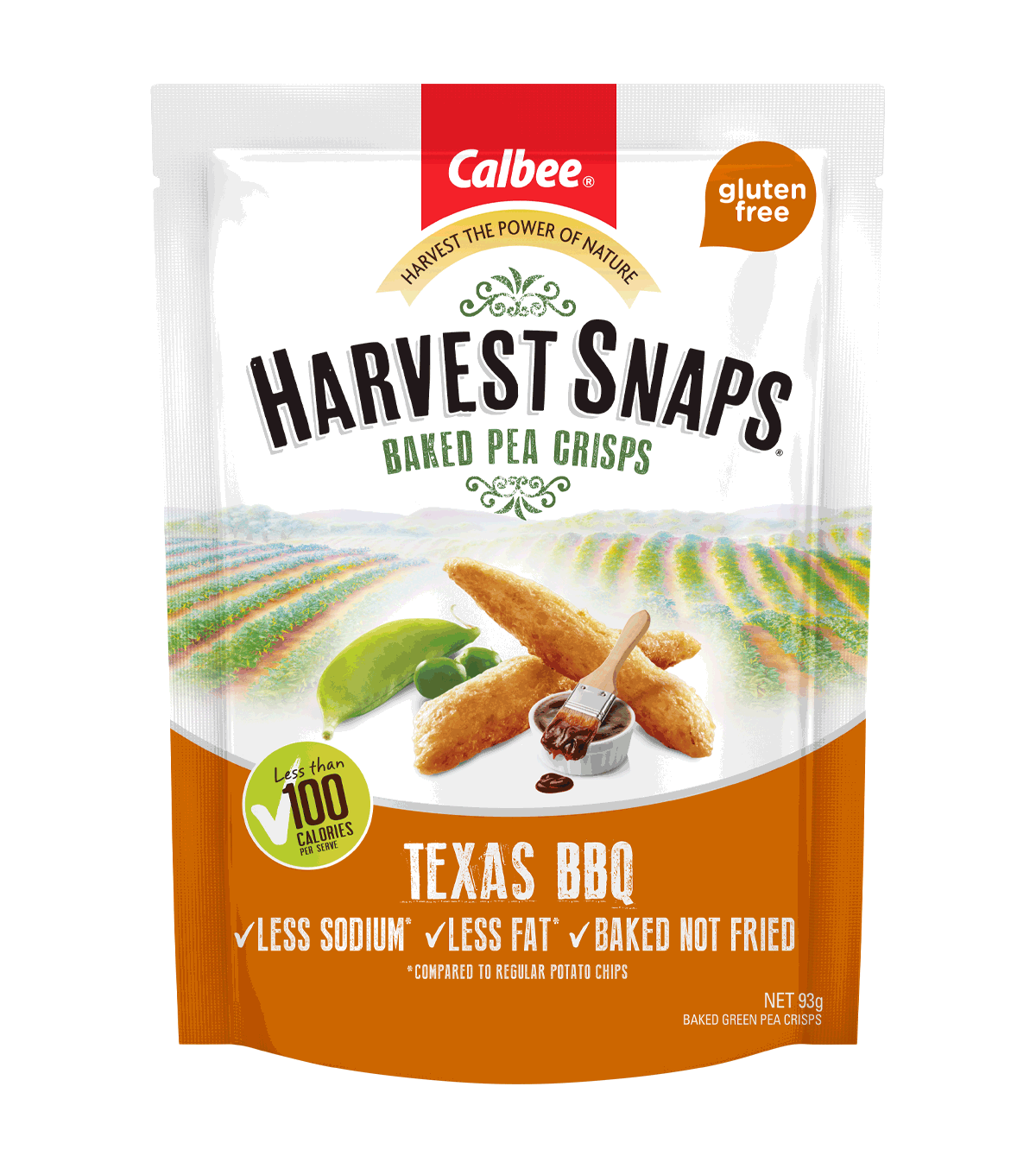 Harvest Snaps Texas BBQ 93g