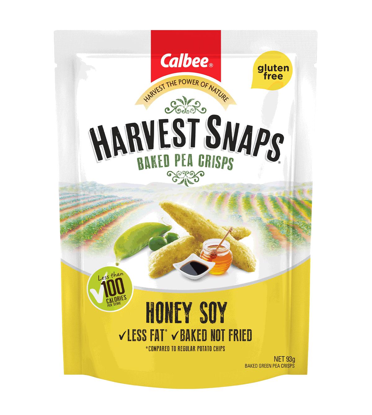 Harvest Snaps Honey Soy 93g