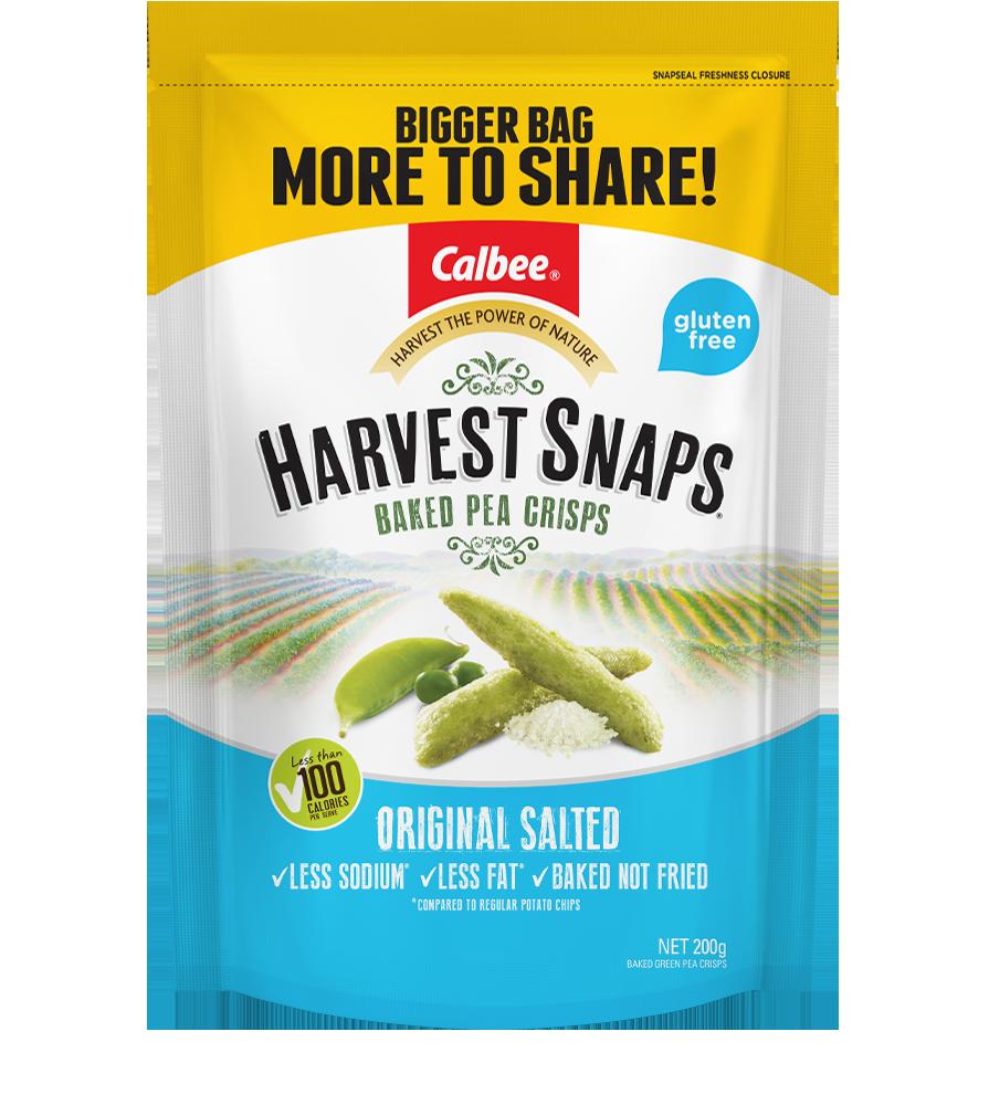 Harvest Snaps Original Salted-200g-Big-Bag