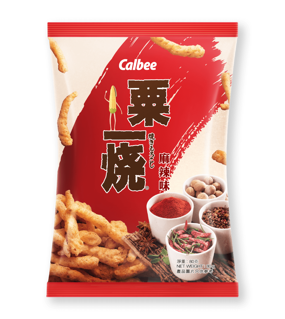 Calbee Australia - World Foods - Grill-A-Corn - Mala