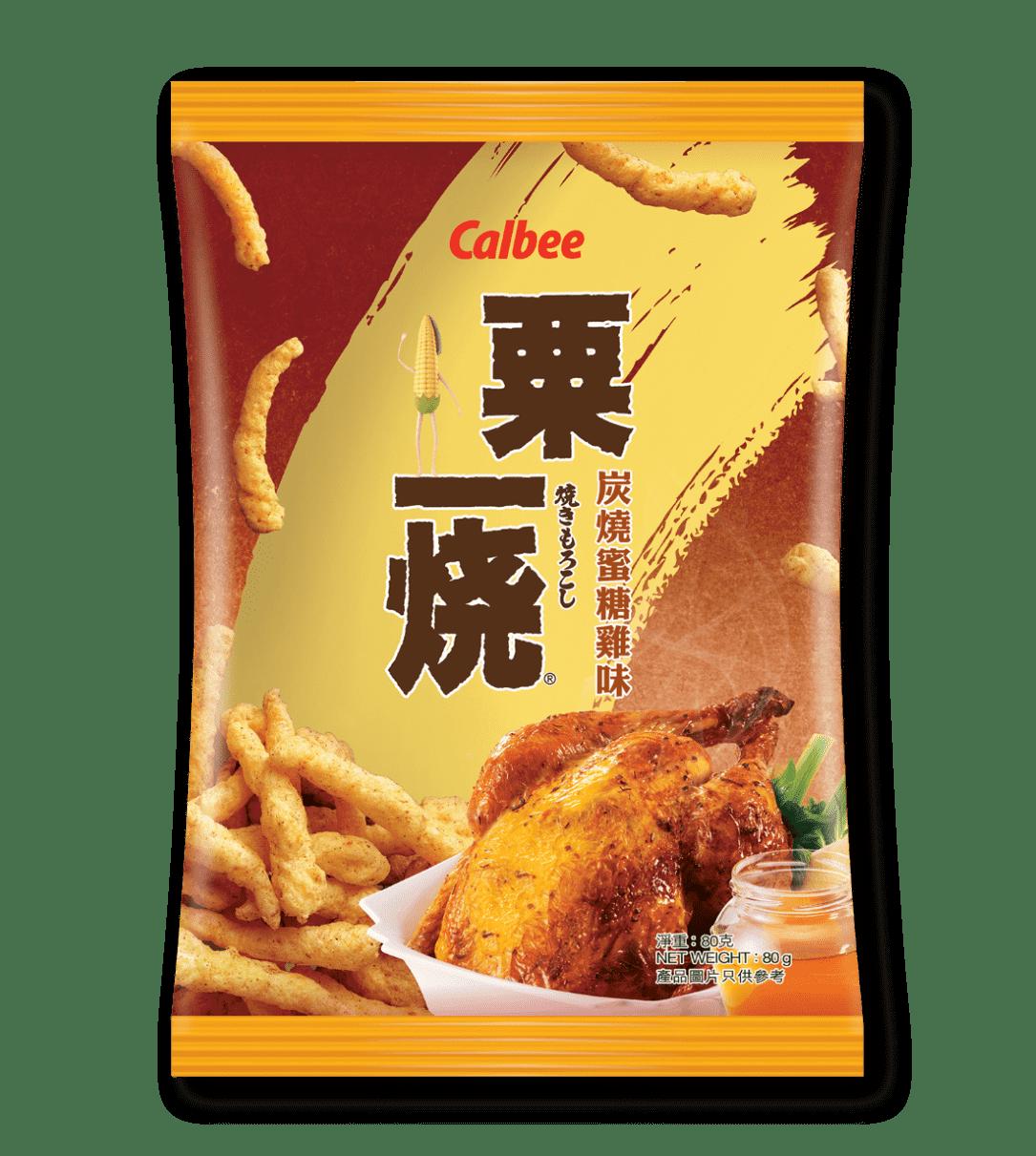 Calbee Australia - World Foods - Grill-A-Corn - Roast Chicken