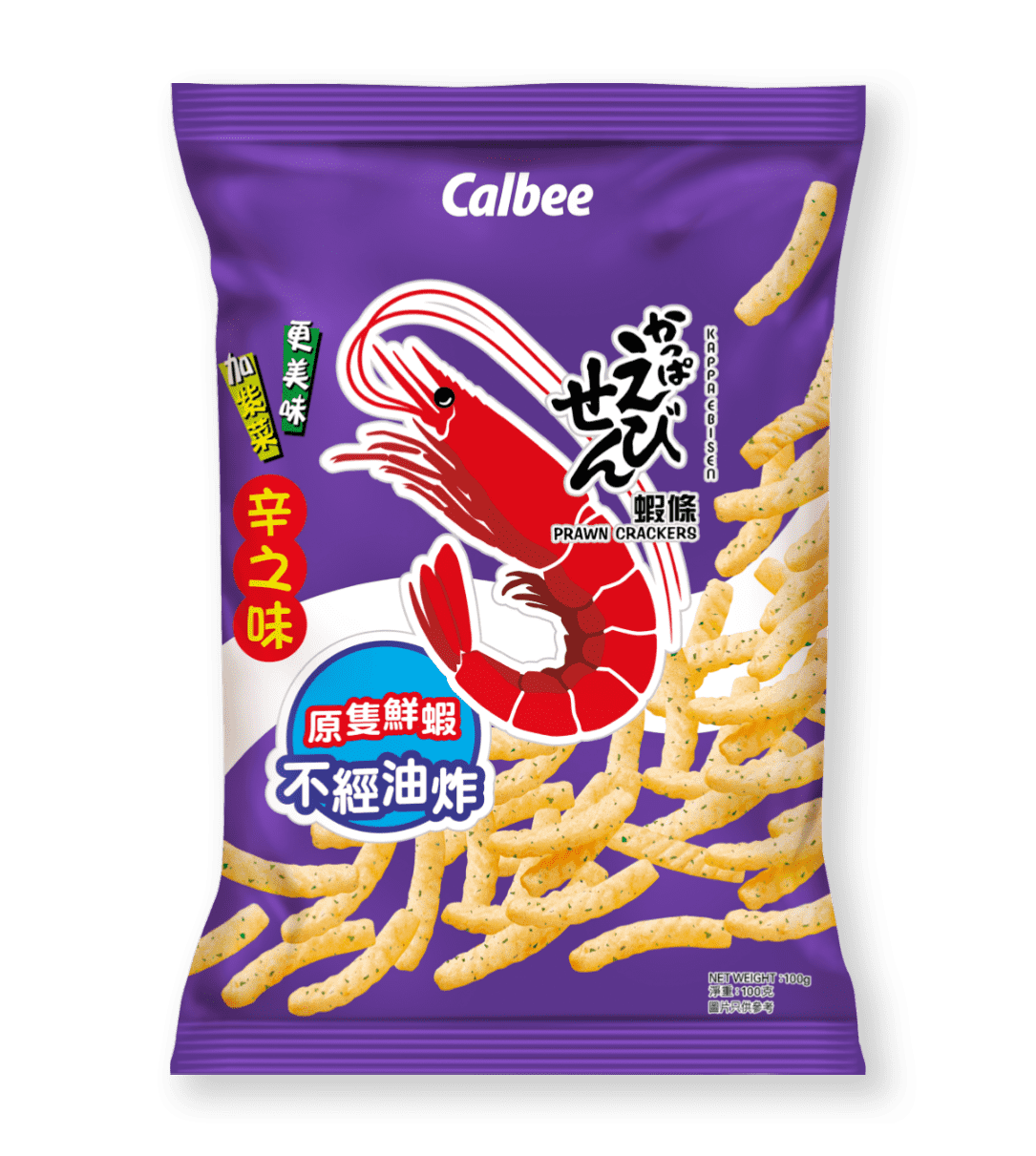 Calbee Australia - World Foods - Prawn Crackers - Shichmi