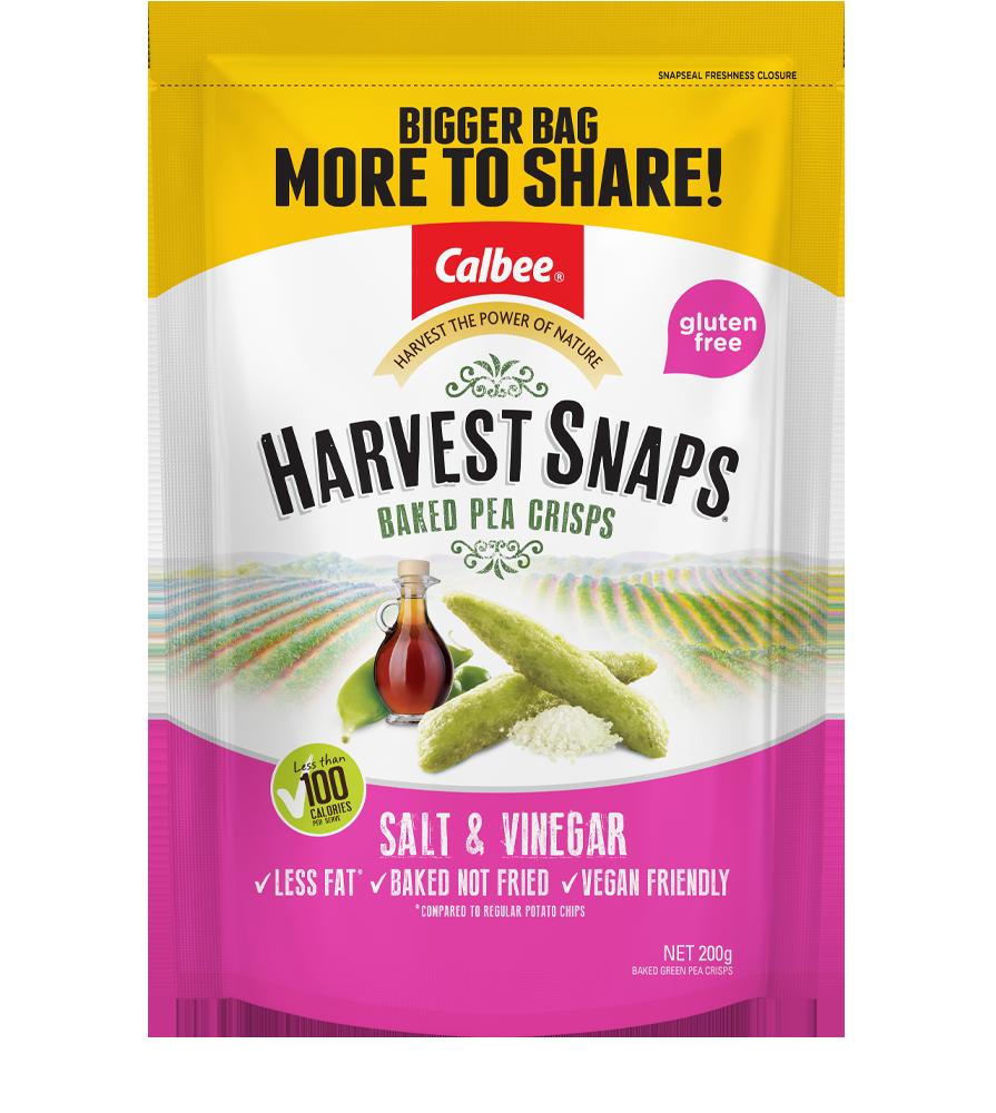 Harvest Snaps Salt & Vinegar-200g Big-Bag