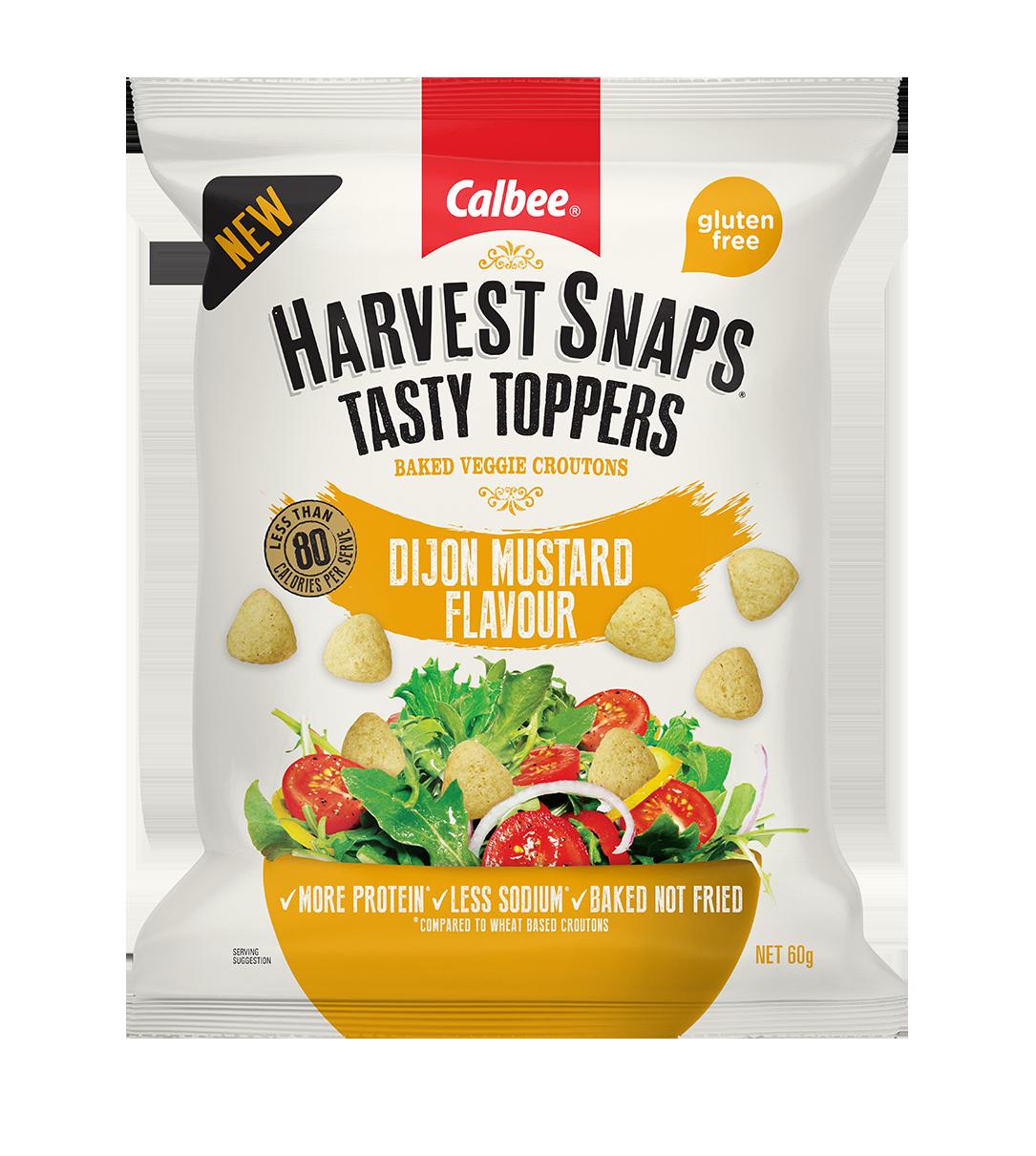 Harvest Snaps Tasty Toppers Dijon