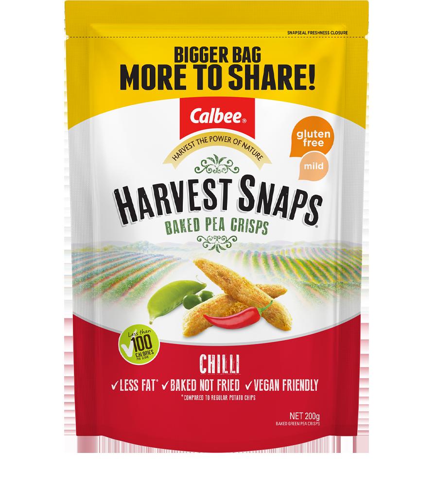 Harvest Snaps CHILLI 200g Share Bag